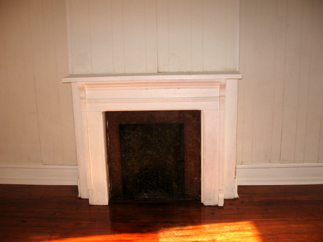 735 N 43rd St. – Fireplace